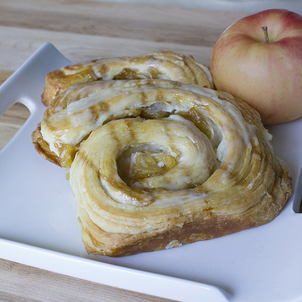 Caramel Apple Danish Feature