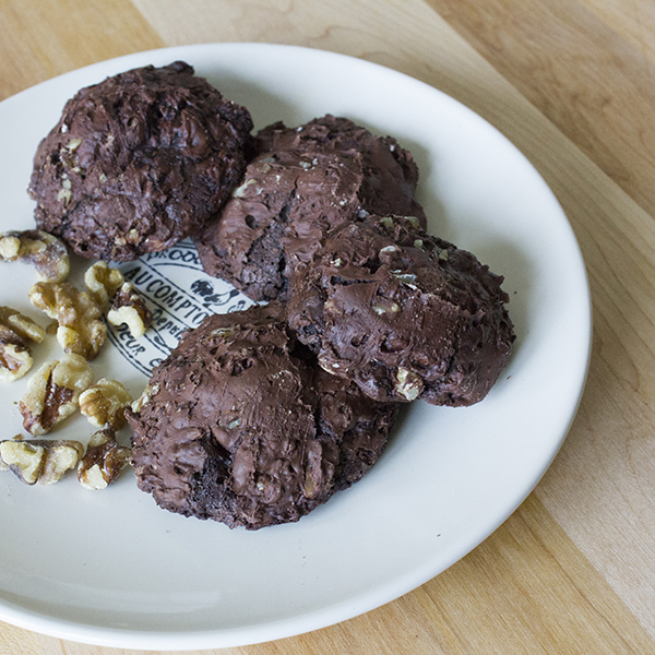 Flourless Chocolate Cookies Feature